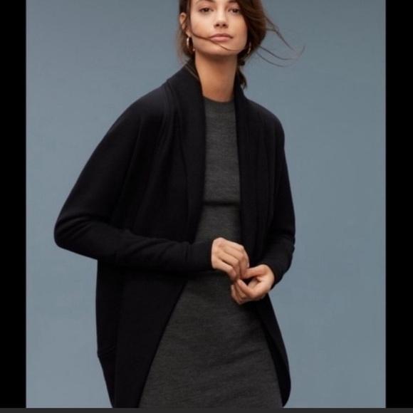 Aritzia Wilfred Diderot Sweater Black Size Small